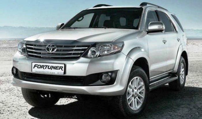 Virat Kohli Toyota Fortuner