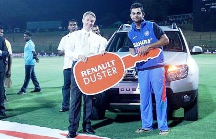 Virat Kohli Renault Duster