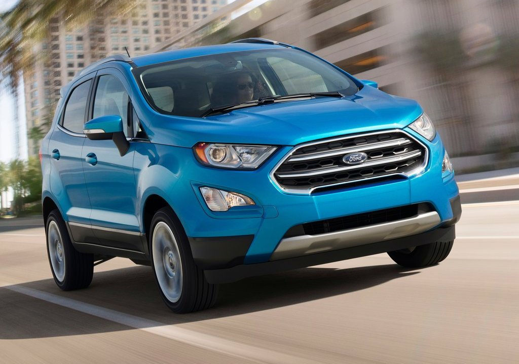 Ford EcoSport faceift 2017