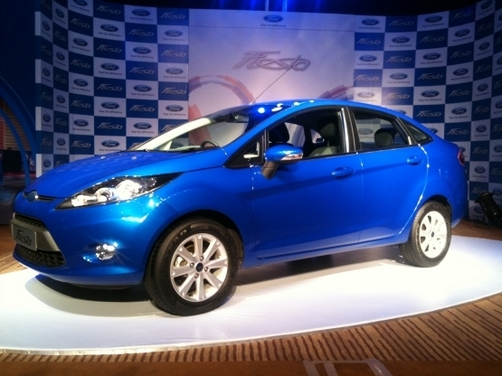Ford launches Fiesta 2011