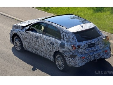 Next generation 2018 Mercedes A-Class spotted testing in Europe