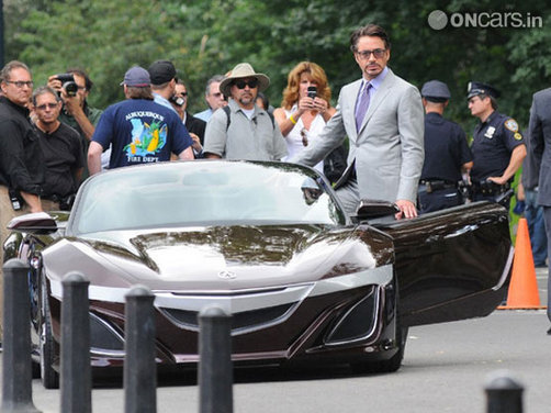 Tony Stark to roll in an Acura in 'The Avenger' movie