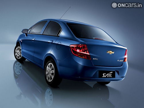 GM India sets 48,000-unit sales target for Chevrolet Sail