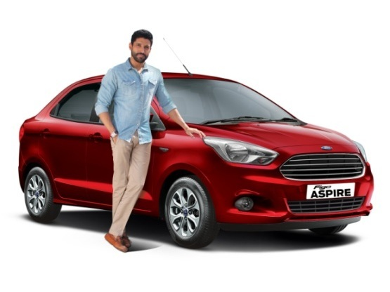 Ford Figo Aspire 2015: Farhan Akhtar asks 'What Drives You?'