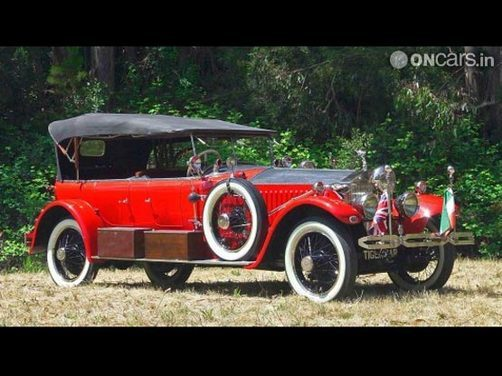 Maharaja's 'Rolls Royce Tiger Car' to be auctioned