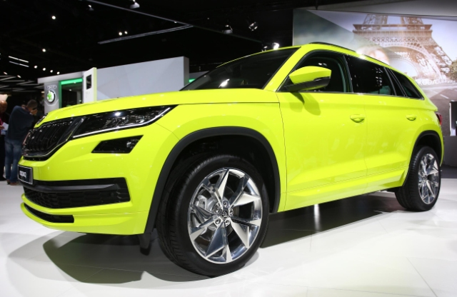 2017 Skoda Kodiaq 7 Seater Suv Unveiled At 2016 Paris Motor Show In 6 Images