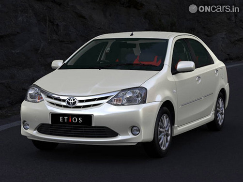 Toyota Etios Diesel sedan launched at Rs 6.44 lakh