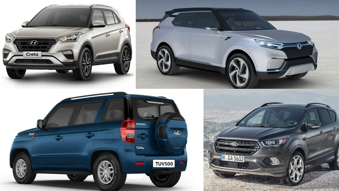 Upcoming Suv S Under 15 Lakh In India News Cars News India Com
