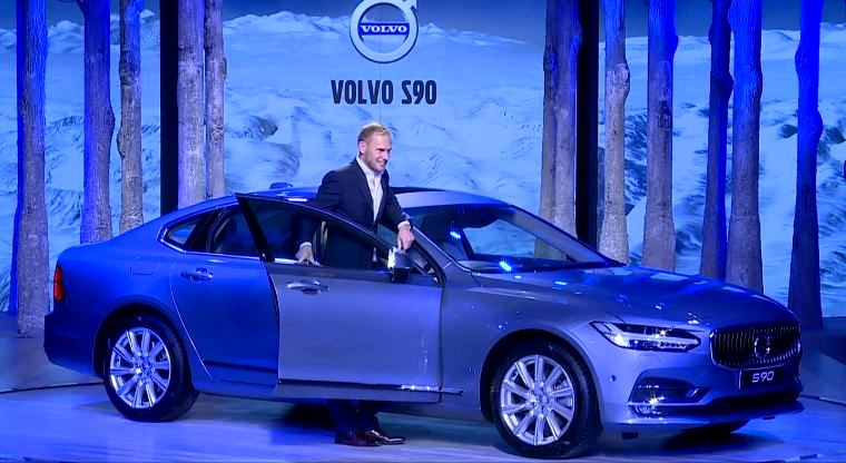 All New Volvo S90 Sedan Launched In India Price Starts At Inr 53 5