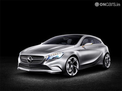 Mercedes Benz plans the compact range of cars for India in 2012