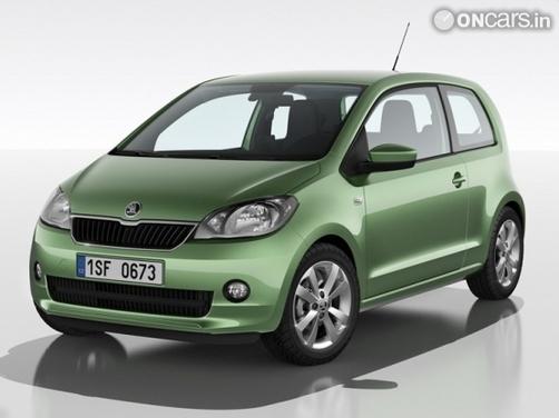 Breaking: 2012 Skoda Citigo unveiled!