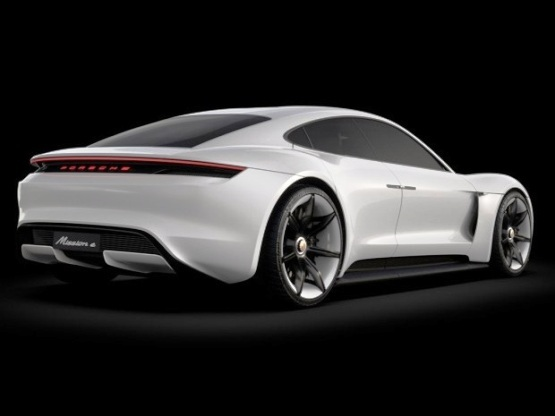 Porsche Mission E is the first all electric sportscar from the German carmaker