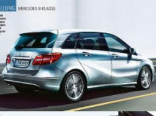 Is this the new Mercedes Benz B-class?