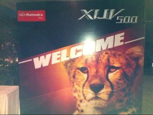 Live: Mahindra XUV 500 India launch