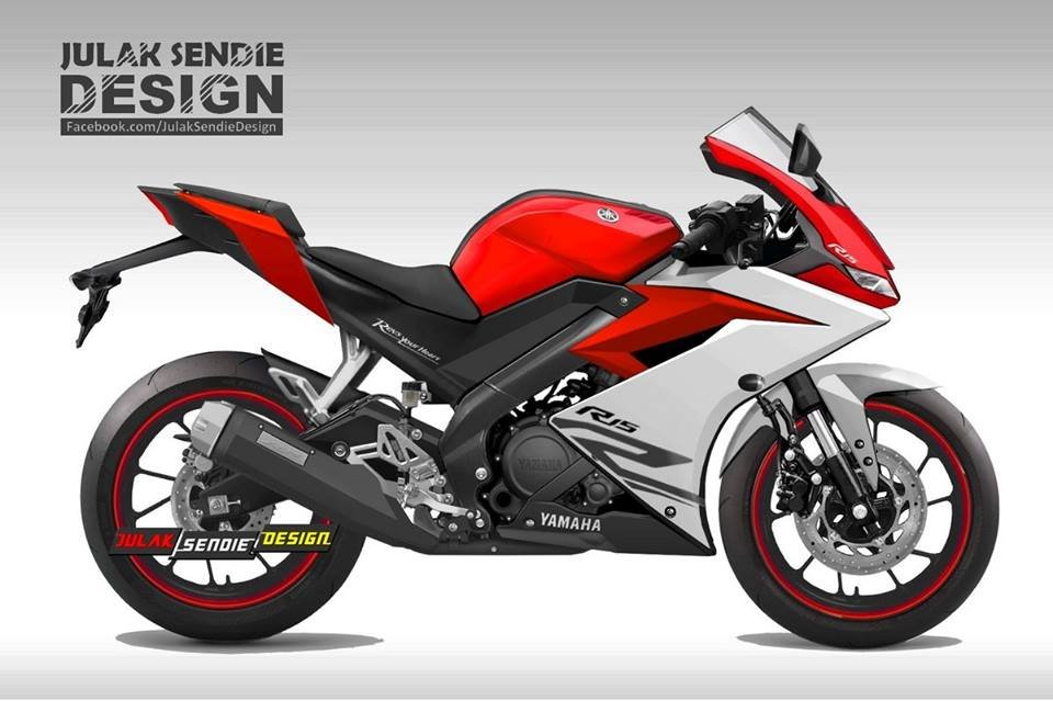 Yamaha YZF-R15 V3 0 Images in multiple angles and colour