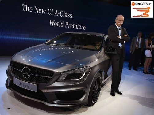 2013 NAIAS: Mercedes Benz officially launches the CLA
