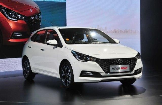 2017 Hyundai Verna Hatchback Revealed