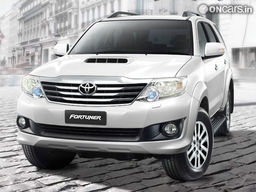 2012 Toyota Fortuner unveiled