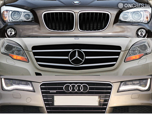BMW, Mercedes and Audi continue to sell in good numbers