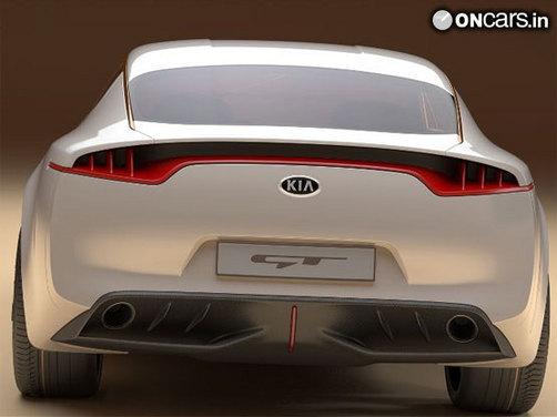 Kia GT Concept unveiled at Frankfurt