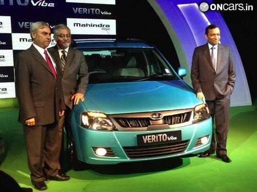Live: Mahindra Verito Vibe launch in India