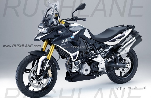 BMW GS 310 Adventure India Launch in 2017