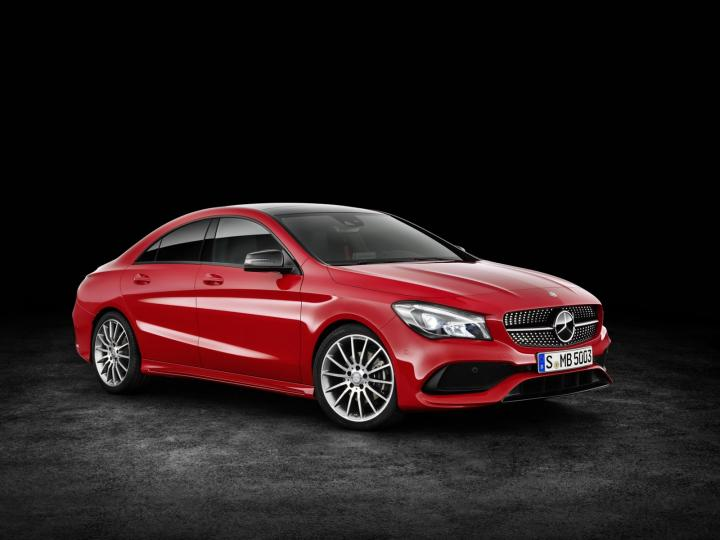 Mercedes-Benz CLA Facelift 2017 launching today in India