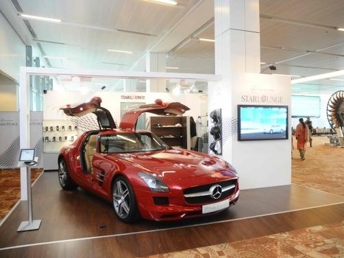 Mercedes unveils Star Lounge at Delhi airport