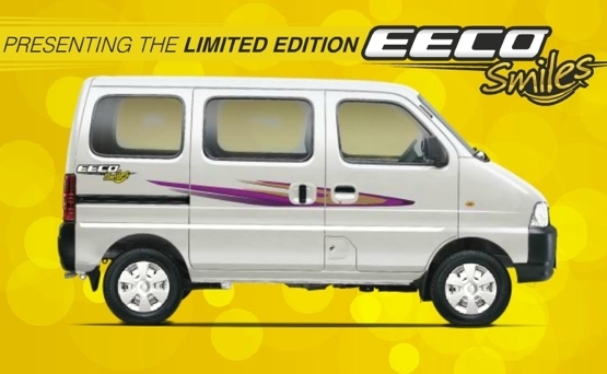 Maruti launches limited edition EECO Smiles