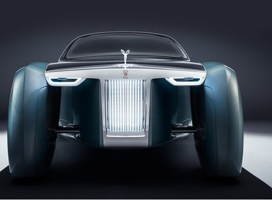 The Rolls Royce 103EX: The luxury automobile for the future