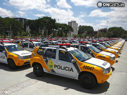 Brazilian Military Police gets 670 Renault Duster SUVs for patrolling