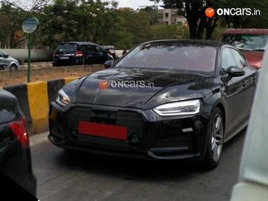 2017 Audi A5 Sportback Spotted Testing in Navi Mumbai: Exclusive