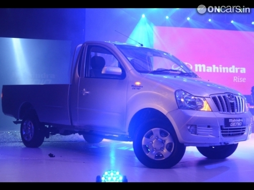 Mahindra Genio launched for global markets