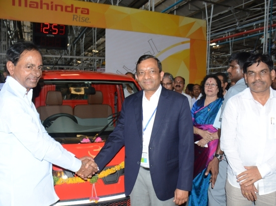 Mahindra & Mahindra India: Mahindra inaugurates its INR 250 Crore extended manufacturing facility at Zaheerabad, Telangana