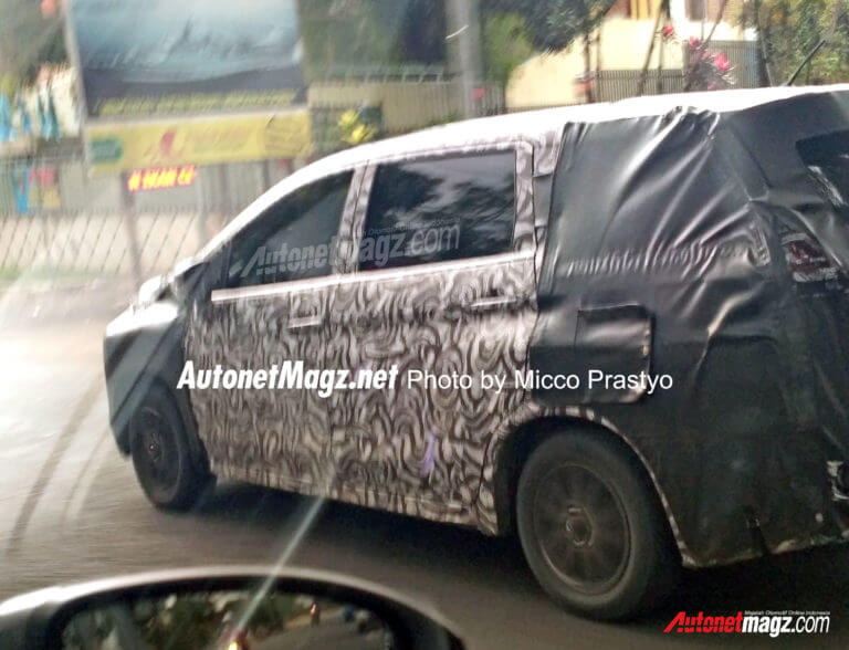 Mitsubishi XM Crossover MPV Begins Testing In Indonesia Could Come To India Soon