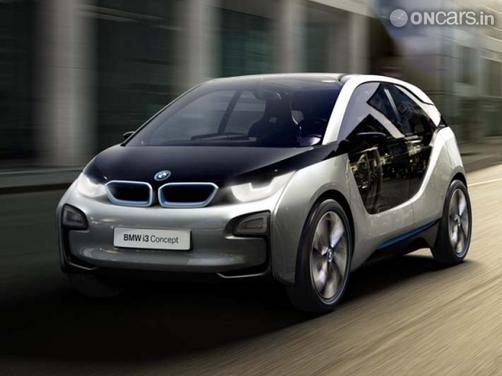 BMW reveals i3 and i8 concepts at Frankfurt