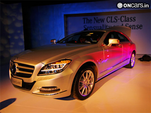 Mercedes launches CLS350 for Rs 67.67 lakh