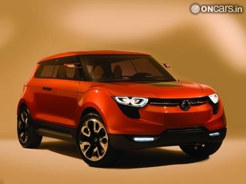 SsangYong reveals XIV-1 Concept at Frankfurt