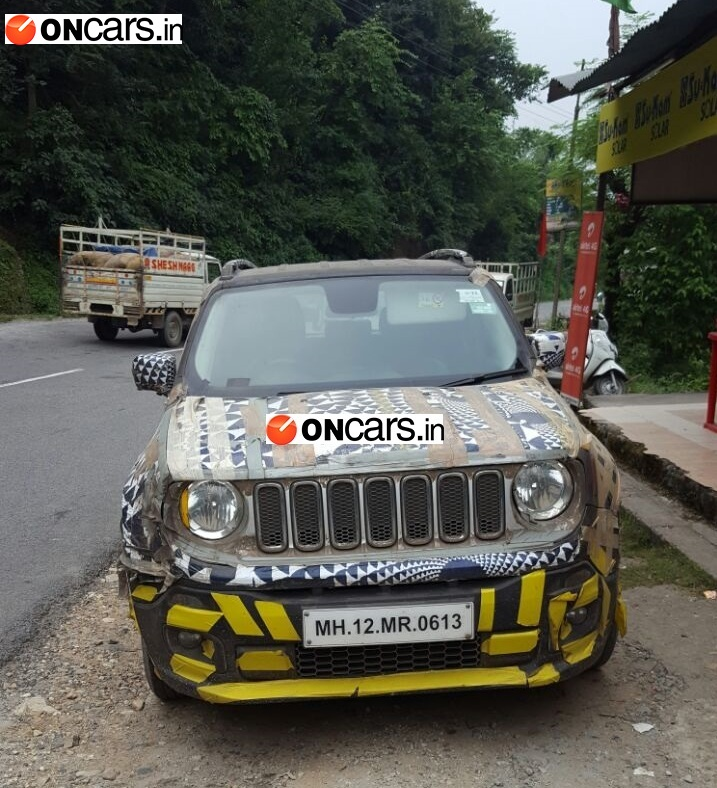 Jeep Renegade Exclusive Spotted In India News Cars News India Com