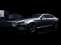 Hyundai previews all-new generation 2015 Genesis premium sedan