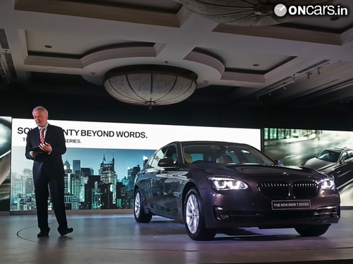 LIVE: 2013 BMW 7-Series Facelift launch in India