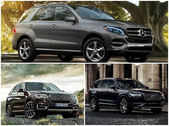Mercedes Benz Gle Vs Bmw X5 Vs Volvo Xc90 Comparison Report