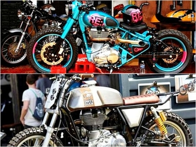 Royal Enfield officially unveil factory built custom bikes