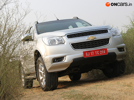 Chevrolet Trailblazer First Drive Review Car Reviews News India