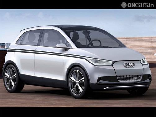 Audi electric car  A2 concept revealed at Frankfurt