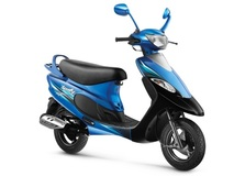 2016 TVS Scooty Pep Plus Launched at INR 43,534