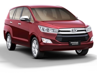 Toyota Innova Crysta-Petrol launching today: Price ...