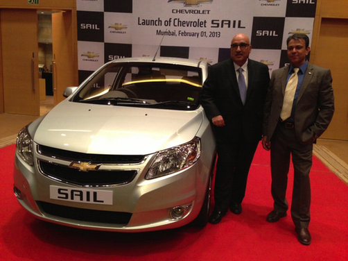 Chevrolet Sail sedan launched in India at Rs 4.99 lakh