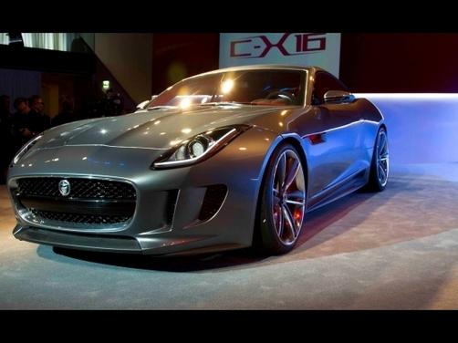 Jaguar C-X16 production concept unveiled at Frankfurt