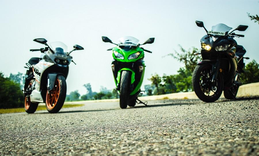 Comparison Review - Yamaha YZF-R3 vs Kawasaki Ninja 300 vs
